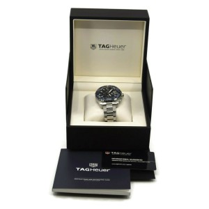 Tag Heuer Aquaracer Chronograph Stainless Steel Watch CAY211B