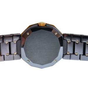 Ladies Corum Admirals Cup 39.610.30 V050 Steel PVD Gold 27MM Quartz Watch