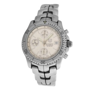 Men's Tag Heuer Link CT2113 Chronograph Steel Automatic 41MM Watch