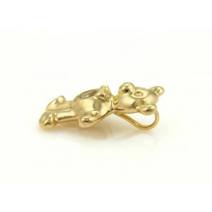 Chopard Happy Diamond Teddy Bear Pendant in 18k Yellow Gold