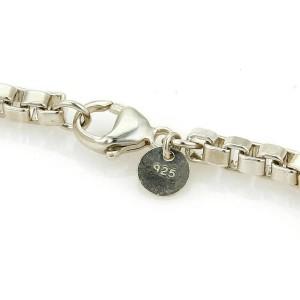 Tiffany & Co. Venetian Box Link Sterling Silver Bracelet