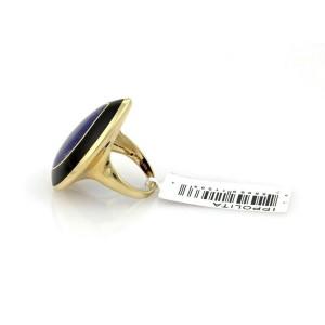 Ippolita Rock Candy Teardrop Lapis & Onyx 18k Yellow Gold Ring