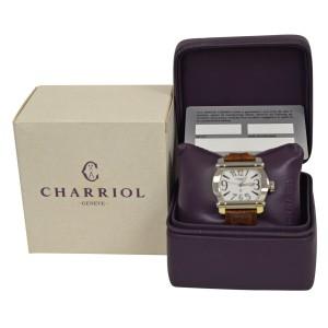 Ladies' Charriol Actor CCHTL Stainless Steel Quartz 36MM Date Watch