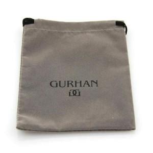 Gurhan Cage Design London Blue Topaz Sterling 24k Gold Dangle Earrings
