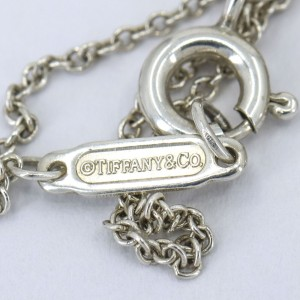 Return to Tiffany & Co. Heart Tag Charm Pendant Necklace in Sterling Silver