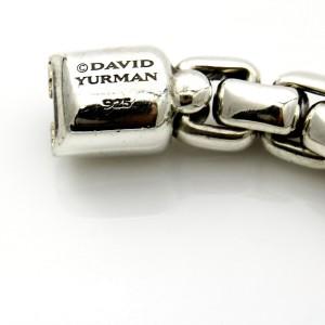 David Yurman Sterling Silver 7mm Box Chain Bracelet X-Large