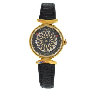 Ladies' Ernest Borel Cocktail Kaleidoscope Mechanical Gold Filled 25MM Watch