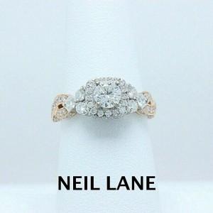 Neil Lane Diamond Engagement Ring 1 5 8 Tcw 14k Rose White Gold Neil Lane Buy At Truefacet