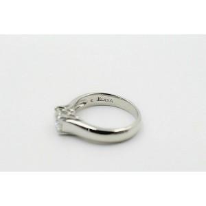 Elara Radiant Platinum Diamond Engagement Ring GIA 0.71 ct I VVS2 $9,000 Retail