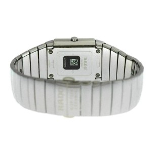 New Unisex Rado Sintra R13432212 Ceramic 31MM Date Quartz $2,300 Watch