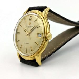 Vacheron Constantin 18k Yellow Gold Vintage Men's Watch Textured Dial