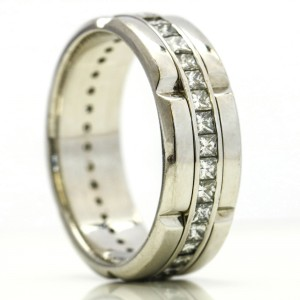 2.00  Carat Platinum Diamond Band Ring