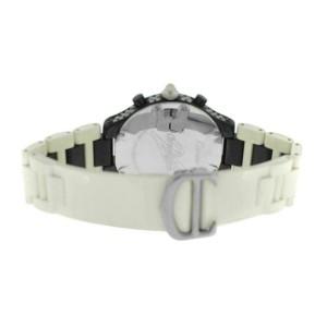 Unisex Cartier 2424 Chronoscaph 38MM PVD Steel Diamond Quartz Watch