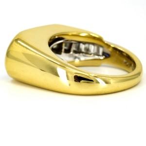 Black Onyx Diamond Ruby Dangle Earrings in 18k Yellow Gold ( 4.20 ct tw )