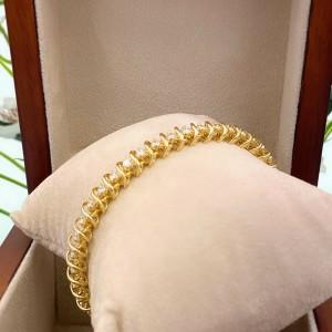 Diamond Tennis Bracelet 3.00 TCW 14K Yellow Gold