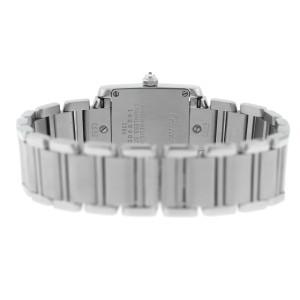 Cartier Tank Francaise 2384 Ladies' Stainless Steel Quartz 20MM Watch