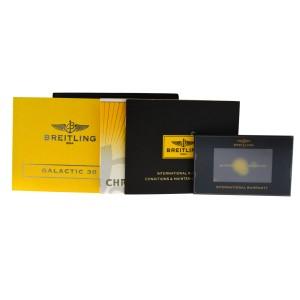 New Breitling Galactic 30 A71340 A71340L2/A679 MOP Diamond Quartz 30MM Watch