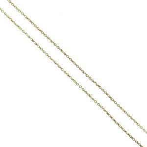 18k Yellow Gold Marco Bicego Diamond Petali Flower Necklace