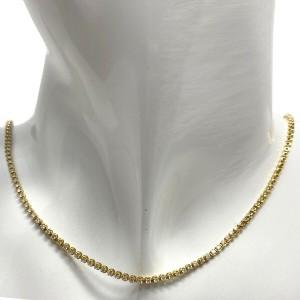 Jennifer Zeuner Vartee 14k Yellow Gold Diamond Necklace