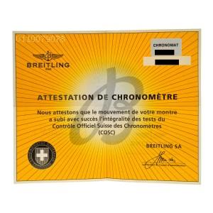 Breitling Chronomat 44 AB011011/G685-732P Men's Automatic 44MM MOP Watch