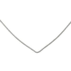 Jennifer Zeuner Vartee 14k White Gold Diamond Necklace