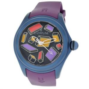 Corum Bubble Steve Aoki 082.312.98/0390 SA01 Limited Blue PVD Steel 47MM Watch