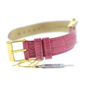 Tourneau Belair Time A1407/S Ladies 14K Solid Gold Diamond MOP 24MM Quartz Watch