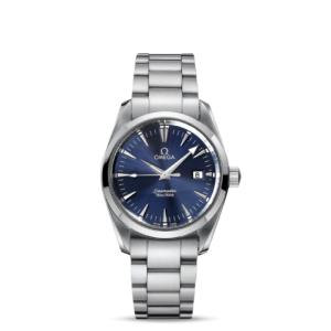 Omega Aquaterra Seamaster 2518.80 Men's Midsize 36MM Steel Quartz Watch