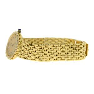 Baume & Mercier 18K Gold Diamonds 22MM Quartz Bracelet Watch
