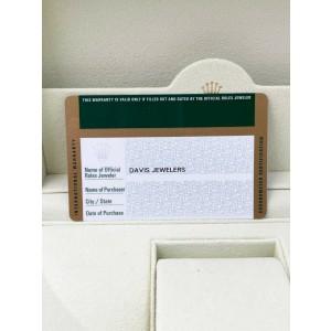 Rolex Submariner 116610 Green Hulk Stainless Steel Box Paper OPEN CARD