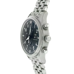 IWC Pilot IW371701 Chronograph Stainless Steel Automatic Watch
