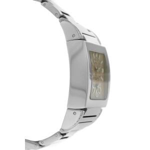 De Grisogono Tino Acier N03.002/B Ladies Diamond Steel Quartz 29MM Watch