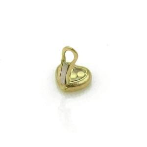 Chopard Happy Diamond 18k Yellow Gold Heart Clip On Non Pierced Earrings