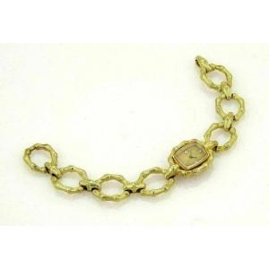 Estate Chopard Spritzer & Fuhrmann 18k Gold Diamond Dial Ladies Wrist Watch
