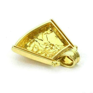 Carrera y Carrera Diamond 18k Yellow Gold Carved Cherubs Fancy Pendant