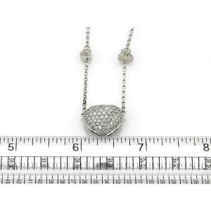 Hearts & Stars 2.25ct Diamond 18k White Gold Pendant Necklace