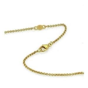 Georg Jensen Puffed Pierced Hearts 18k Yellow Gold Pendant