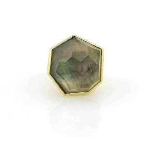 Ippolita Rock Candy Mother of Pearl 18k Yellow Gold Ring