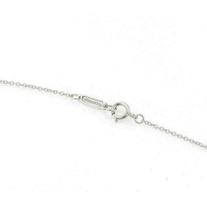 Tiffany & Co. Aria Pink Tourmaline 18k White Gold Floral Pendant