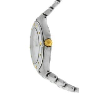 Ebel Sport Wave 6187631 Mens Stainless Steel Gold Quartz 36MM Date Watch