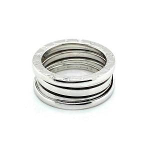 Bvlgari B.zero1 Three Band 18k White Gold Ring