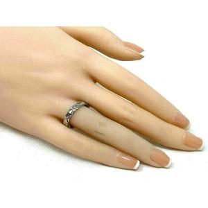 Chanel Matelasse Platinum 3.5mm Band Ring Size 54