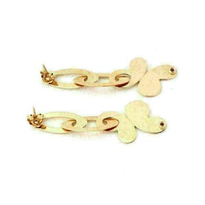 Roberto Coin Chic & Shine 18k Rose Gold Butterfly Dangle Earrings