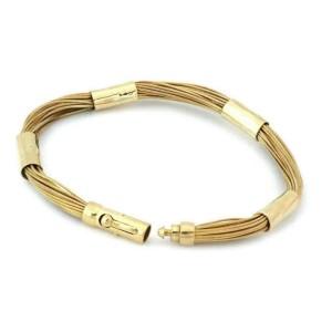 Tiffany & Co. 18k Yellow Gold Multi-Strand Fancy Bracelet Germany