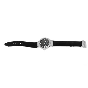 Hublot Classic B1405.1 Ladies Midsize Stainless Steel Date 32MM Quartz Watch
