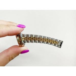 Rolex Ladies Datejust 79173 MOP Diamond Dial Diamond Bezel 18K Yellow Gold Steel