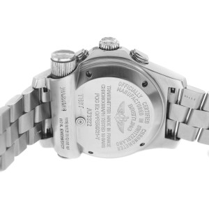 Breitling Emergency A73322 Men's Chronograph Stainless Steel Quartz 46MM Watch