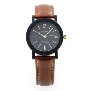 Bvlgari Bulgari Las Vegas Limited Edition Carbon Automatic Watch