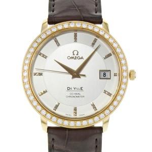 Omega DeVille 413.58.37.20.52.001 36.5mm Mens Watch