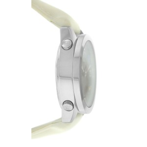 Jacob & Co. Five 5 Time Zone JCM-29 Stainless Steel 40MM Watch Off-White Strap